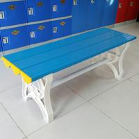 abs塑料更衣凳健身房浴室长条凳子防水防潮游泳馆浴池长条换鞋凳