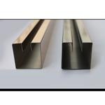 厂家定制包边踢脚线 定制各种规格 不锈钢墙脚线