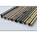 不锈钢装饰线条定制 各种规格形状不锈钢装饰线条来图定制