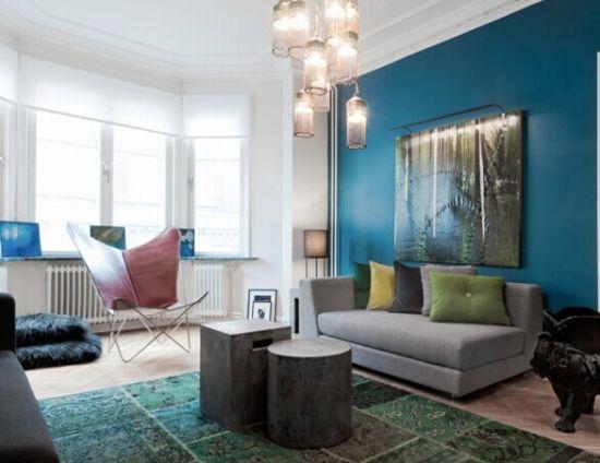 客厅墙纸效果图片大全 电视墙装修效果图大全