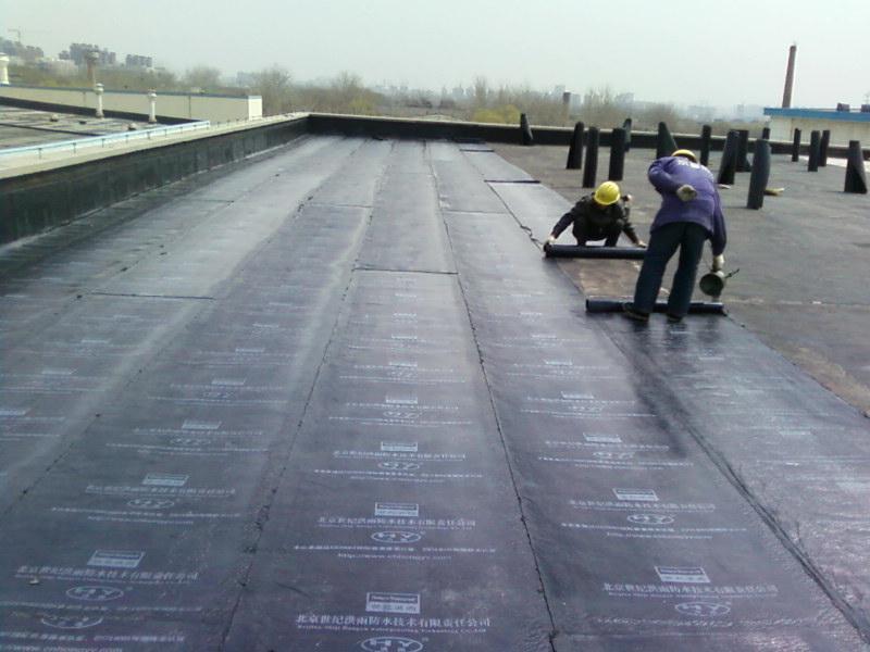 用卷材做屋顶防水视频 SBS防水卷材和高分子丙纶布的区别