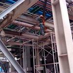 薄型钢结构防火涂料工程