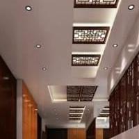 酒吧背景装饰无锡铝窗花、木纹铝窗花专业厂家订做。