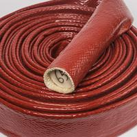 供应硅胶玻璃纤维防火耐热套管