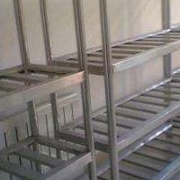 西安不锈钢净化车间货架加工价格质量保证