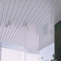 铝条扣 广州德普龙厂家直销工程铝条扣吊顶 室内吊顶长条形铝扣板