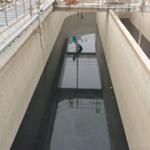 污水池伸缩缝漏水堵漏施工