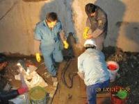 地下人防通道墙面渗漏水堵漏维修