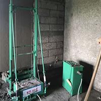 全自动粉墙机自动抹墙机工地建筑抹灰机粉墙机