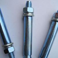 镀锌膨胀螺丝 蓝白锌膨胀螺栓M6*60规格齐全