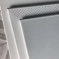 1.8全孔,3.0对角冲孔,工程平板铝扣板