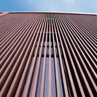 三门峡木纹铝方通隔断 外墙铝方通订做 型材铝方通厂家