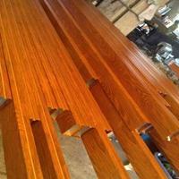 济南木纹色铝方通厂家 喷涂彩色铝方通 外墙铝方管幕墙