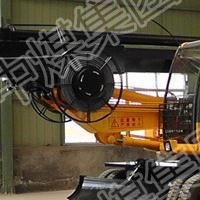 山东中煤品牌360度轮式旋挖钻机