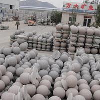 大理石圆球多少钱一个,芝麻灰花岗岩石球