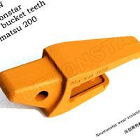 小松斗齿齿根,挖掘机配件齿座,高耐磨斗齿齿母