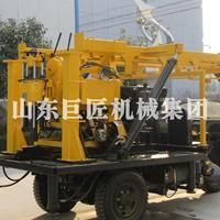 巨匠机械集团供应三轮车钻井机大型全自动钻深水井钻机