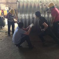 云南直径6米钢波纹管涵施工 波纹钢板隧道加固排水