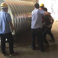 邯郸钢波纹管涵施工 大口径波纹涵管价格 管廊结构排水