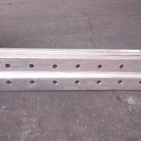 青岛供应钢丝绳提升带铝镁合金接头夹具厂家