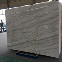 白底灰纹系列广西浪花白天然大理石大板