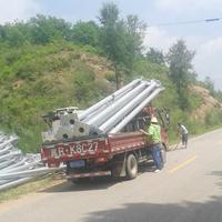 吉林市政公路热镀锌喷塑标志杆价格合理