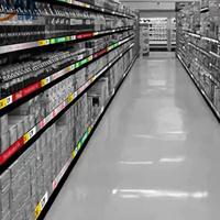超市商场P1.875led货架显示屏