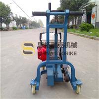 乡村建设水泥马路开缝机 马路地面开槽机 混凝土路面切割设备