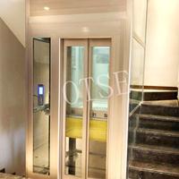 无机房家用别墅电梯 安全曳引式观光电梯