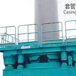 重庆全套管全回转钻机施工隧道掘进机施工顶管机旋挖施工租赁公司