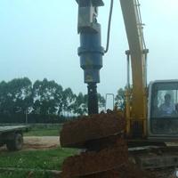 植树挖坑机新型螺旋钻机大功率地钻植树机