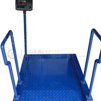 带扶手电子医疗秤 称轮椅医用秤