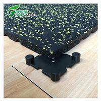 友诚橡胶地垫健身房力量区隔音地板家用减震垫环保耐磨拼接地砖