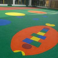 新国标幼儿园塑胶跑道生产厂家 新国标幼儿园活动场地施工单位