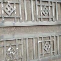 老街改造铝合金窗花-仿古铝艺花格