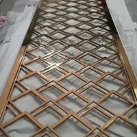 美式青古铜金属屏风定制