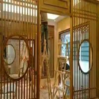 莆田文化园铝花格窗花 中式铝窗花 油漆铝窗花