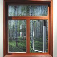 高档铝包木门窗招商,北欧外开铝包木门窗