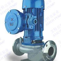IHG50-200防爆电机循环冷却水立式不锈钢离心泵