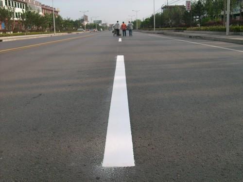 标线厚度 现在道路标线一般是什么材料的
