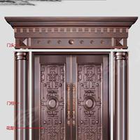 别墅铜门、挺远别墅铜门厂家选择古韵铜业
