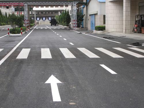 道路上的各种标线 道路标线有哪些种类