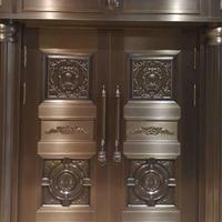高品质设计 做工精细 宝创传奇铜门专业订制 北京铜门