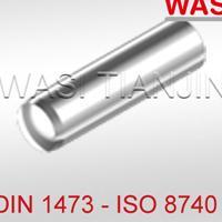 槽销带倒角及全长平行沟槽 ISO8740 DIN1473