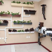 华北建筑用屋面落水系统 雨水管材 彩铝落水系统 铝合金管