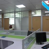 深圳玻璃隔斷 辦公室玻璃百葉隔斷 屏風玻璃隔斷