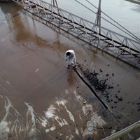 自来水厂水池渗漏水堵漏施工