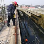 输煤廊道漏水带水堵漏公司