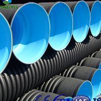 纯原料PE双壁波纹管材质优价廉厂家直供
