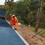 东莞大朗沥青路面承包公司-柏油马路修补施工